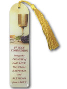 Tassel Bookmark: CommunionYellow (BMC5052)