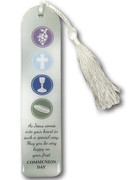 Tassel Bookmark: Communion White (BMC5055)