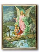 GOLD FRAME - GUARDIAN ANGEL on bridge #2