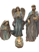Holy Family & Angel: Four Piece, 24cm (NS10076)