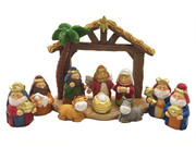 Miniature Nativity Set 11 pieces (NS10063)