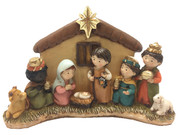 Kiddie Nativity Set: All-in-One, 21cm(NST10100)