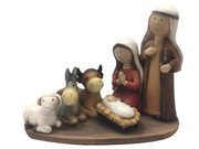Kiddie Nativity Set: All-in-One, 12cm(NST10101)