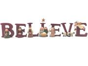 Nativity Set: BELIEVE (NST10074)