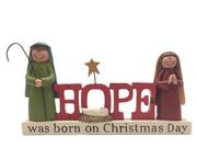 Nativity Set: HOPE (NST10073)