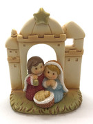 Mini Nativity Scene All-in-one 7cm(NST10067)