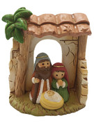 Mini Nativity Scene All-in-one 7cm(NST10066)