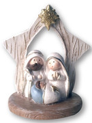 Mini Nativity Scene All-in-one 8cm(NST10001)