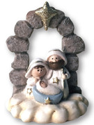 Mini Nativity Scene All-in-one 8cm(NST10002)