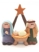 Mini Nativity Scene All-in-one 5.5cm(NST10075)