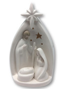 LED Porcelain Nativity Scene 12.5cm(NST10007)