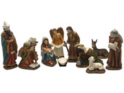 Nativity Set: 11 pieces, 12cm (NS10104)