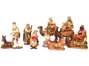 Nativity Set: 11 pieces with Camels, 15cm (NS17723)