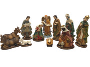 Nativity Set: 11 pieces, 25cm (NS10105)
