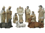 Fibreglass Nativity Set 11 pieces 81cm (NS10089)