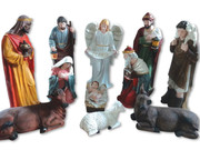 Nativity Set 11 pieces Fibreglass 120cm (NS12011)