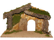 Wood Stable Suitable for 15cm Nativity (NS89000)