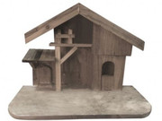 Wood Stable Suitable for 15cm Nativity (NS84000)