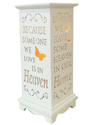 Wood Lanterns with LED Light: Heaven(LT84686)