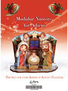 Modular Nativity for Advent (red) (NSTP399)