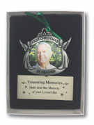 Memorial Ornament/frame, First Christmas in Heaven (CO785)