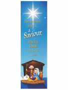 Christmas Bookmark: A Saviour...(BMX9187)