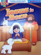 Children's Activity Book: Jesus is Born (1593179489)