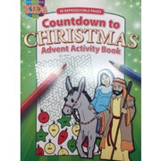 Children's Activity Book: Advent Countdown (1593179441)