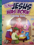 Children's Activity Book: When Jesus was Born (1593178727)
