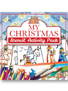 Children's Activity Book: My Christmas Stencil Book(1781283042)
