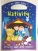 Children's Activity Book: Carry along Nativity (0745965116)