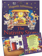 Children's Magnetic Book: The Nativity Story (1781282267)
