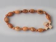 Rosary Bracelet: Wood Stretch (RB02307)