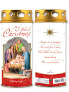 Votive Candle: A Blessed Christmas (CA86960)