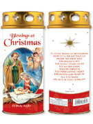 Votive Candle: Blessings at Christmas (CA86962)