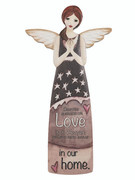 Porcelain Message Angel: Love/Memorial(AN81335)