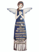 Porcelain Message Angel: Family(AN81281)