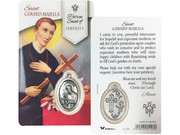 Window Charm Prayer Card: St Gerard (LCG108)