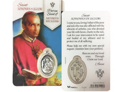 Window Charm Prayer Card: St Alphonsus de Liguori (LCG109)