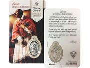 Window Charm Prayer Card: St Charles Borromeo (LCG110)