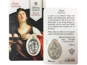 Window Charm Prayer Card: St Agatha (LCG102)