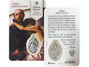Window Charm Card: St John of God (Patron Heart Disease) (LCG111)