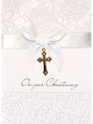 Card (each): Christening (CD22648e)
