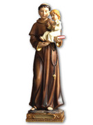 Resin Statue: St Anthony 30cm (STR1211)
