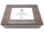 Baptism Gift: Keepsake Box Brown (PLB6099)