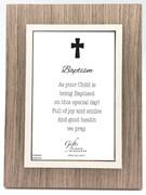 Baptism Gift: Frame Brown (PLB6100)
