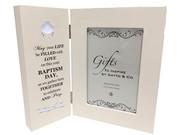 Baptism Gift: LED Hinged Frame(PLB6070)