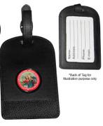 Luggage Tag: St Christopher Black(KR70LTK)
