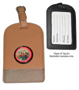Luggage Tag: St Christopher Brown(KR70LTN)