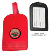 Luggage Tag: St Christopher Red(KR70LTR)